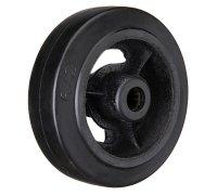 Колесо большегрузное обрезиненное без кронштейна, 300мм (20мм) (D95)