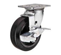 Колесо большегрузное поворотное с тормозом (1084100)