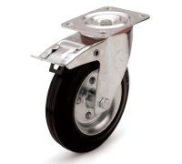 Колесо промышленное поворотное с тормозом (4003250)