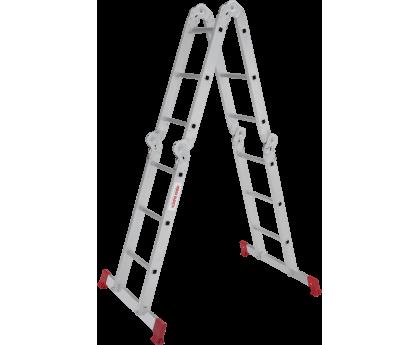 Лестница-трансформер с помостом Новая высота NV 233 4x3 ступеней (2330403)