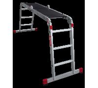 Лестница-трансформер с помостом Новая высота NV 333 4x3 ступеней (3330403)