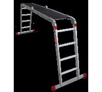 Лестница-трансформер с помостом Новая высота NV 333 4x4 ступеней (3330404)