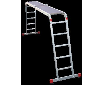 Лестница-трансформер с помостом Новая высота NV 333 4x5 ступеней (3330405)