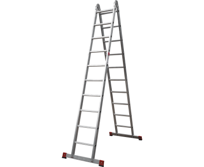 Лестница шарнирная Новая высота NV 331 2x10 ступеней (3310210)