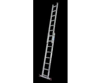 Лестница выдвижная KRAUSE Corda 2x8 ступеней (032188)