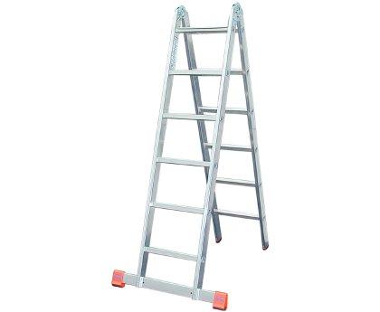 Лестница-стремянка KRAUSE TriMatic 2x6 ступеней (129901)