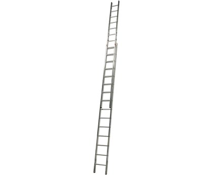 Лестница выдвижная KRAUSE Fabilo Trigon 2x15 ступеней (129321)