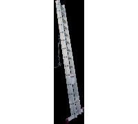 Лестница выдвижная с тросом KRAUSE Corda 2x14 ступеней (030511)