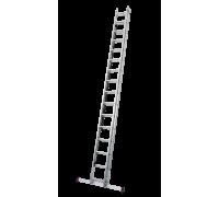 Лестница выдвижная с тросом KRAUSE Corda 2x16 ступеней (031525)