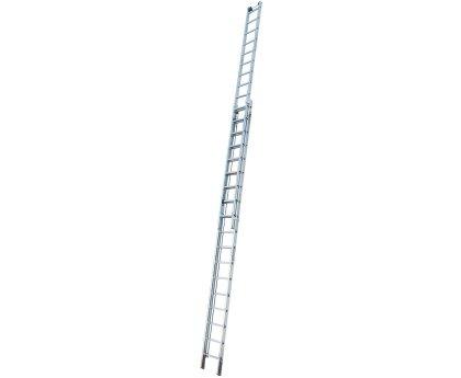 Лестница выдвижная с тросом KRAUSE Robilo 2x18 ступеней (129871)