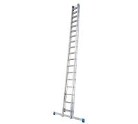 Лестница выдвижная с тросом KRAUSE Stabilo 2x20 ступеней (800718)
