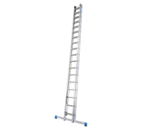 Лестница выдвижная с тросом KRAUSE Stabilo 2x24 ступеней (800725)