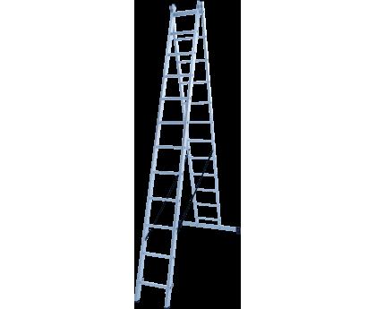Лестница Новая высота NV 122 2x12 ступеней (1220212)