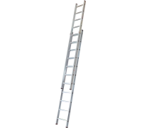 Лестница раздвижная Новая высота NV 526 2x19 ступеней (5260219)