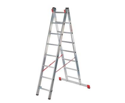 Лестница профессиональная Новая высота NV 322 2x18 ступеней (3220218)