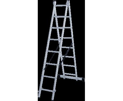 Лестница Новая высота NV 122 2x8 ступеней (1220208)