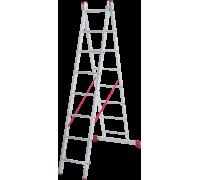 Лестница Новая высота NV 222 2x8 ступеней (2220208)