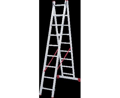 Лестница Новая высота NV 222 2x9 ступеней (2220209)