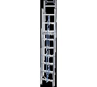 Лестница выдвижная с тросом Новая высота NV 524 2x16 ступеней (5240216)