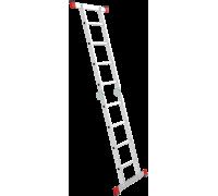 Лестница шарнирная Новая высота NV 331 2x4 ступеней (3310204)
