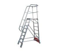 "Лестница с платформой KRAUSE Stabilo ""Vario kompakt"" 10 ступеней (833167)"