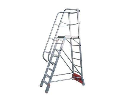 "Лестница с платформой KRAUSE Stabilo ""Vario kompakt"" 14 ступеней (833372)"