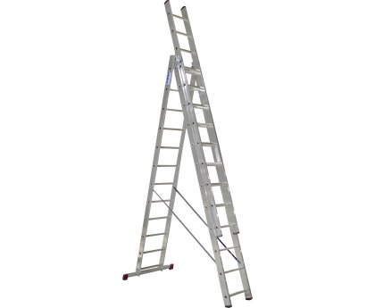 Лестница-стремянка трехсекционная KRAUSE Corda 3x12 ступеней (010445)
