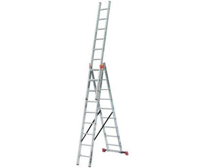 Лестница-стремянка трехсекционная KRAUSE Tribilo 3x10 ступеней (129680)