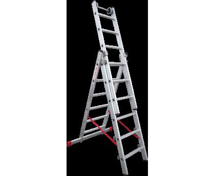 Лестница индустриальная Новая высота NV 523 3x6 ступеней (5230306)