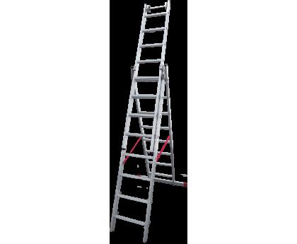 Лестница индустриальная Новая высота NV 523 3x8 ступеней (5230308)