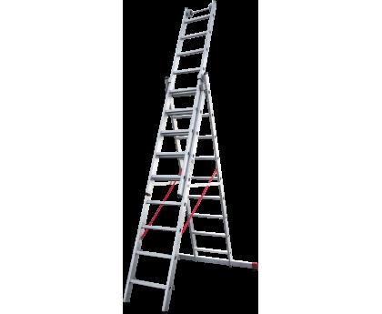Лестница индустриальная Новая высота NV 523 3x9 ступеней (5230309)