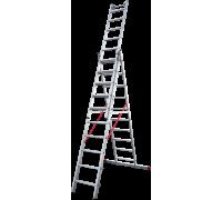 Лестница индустриальная Новая высота NV 523 3x10 ступеней (5230310)
