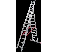 Лестница индустриальная Новая высота NV 523 3x11 ступеней (5230311)