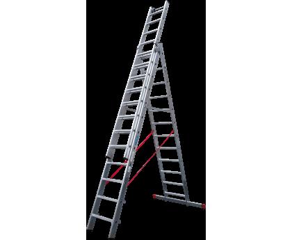 Лестница индустриальная Новая высота NV 523 3x12 ступеней (5230312)