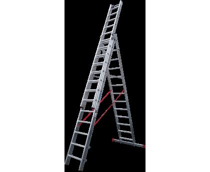 Лестница индустриальная Новая высота NV 523 3x13 ступеней (5230313)
