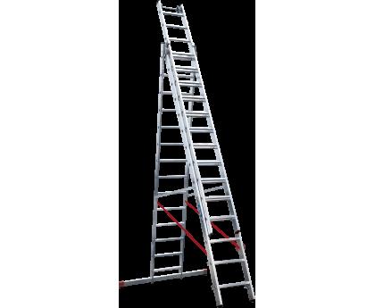 Лестница индустриальная Новая высота NV 523 3x14 ступеней (5230314)
