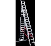 Лестница индустриальная Новая высота NV 523 3x16 ступеней (5230316)