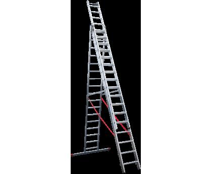 Лестница индустриальная Новая высота NV 523 3x17 ступеней (5230317)