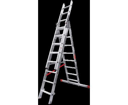Лестница профессиональная Новая высота NV 323 3x8 ступеней (3230308)