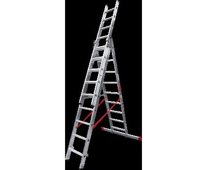 Лестница профессиональная Новая высота NV 323 3x9 ступеней (3230309)