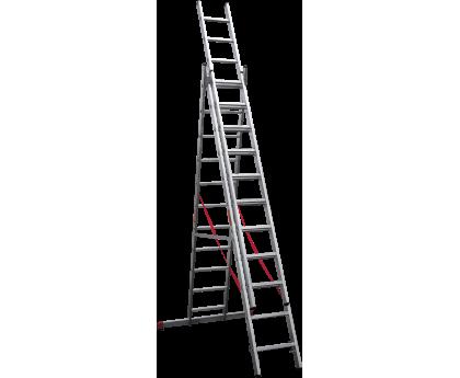 Лестница профессиональная Новая высота NV 323 3x11 ступеней (3230311)