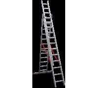 Лестница профессиональная Новая высота NV 323 3x12 ступеней (3230312)