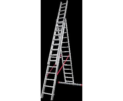 Лестница профессиональная Новая высота NV 323 3x14 ступеней (3230314)