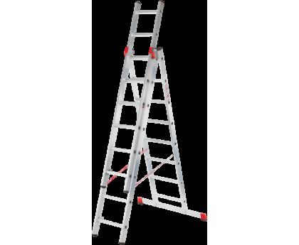 Лестница профессиональная Новая высота NV 323 3x17 ступеней (3231317)