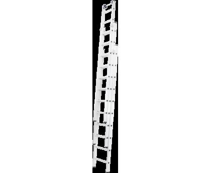 Лестница раздвижная Новая высота NV 527 3x7 ступеней (5270307)