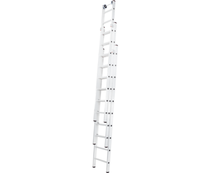 Лестница раздвижная Новая высота NV 527 3x8 ступеней (5270308)