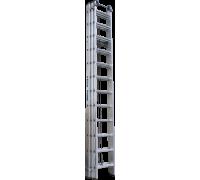 Лестница с тросовой тягой Новая высота NV 525 3х12 ступеней (5250312)