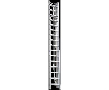 Лестница с тросовой тягой Новая высота NV 525 3х16 ступеней (5250316)
