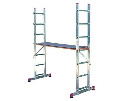 Малые лестничные подмости KRAUSE Corda 2x7 ступеней (080103)