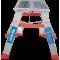 Стремянка индустриальная Новая высота NV 512 2x2 ступеней (5120202)